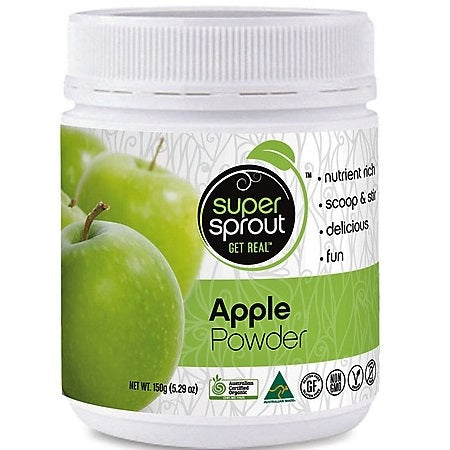 Organic Apple Powder 150g | SUPER SPROUT