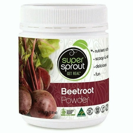 organic beetroot powder 80g | SUPER SPROUT
