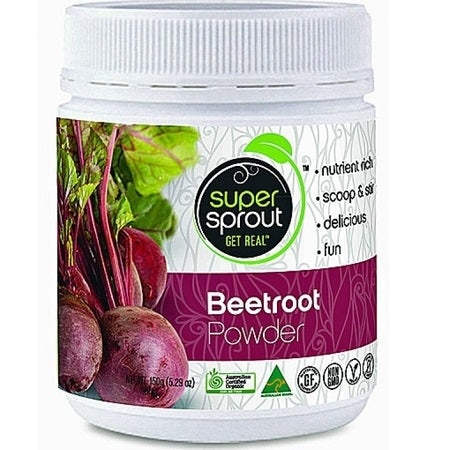 organic beetroot powder 150g | SUPER SPROUT