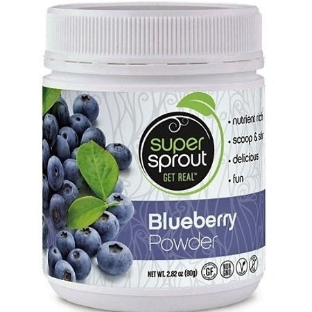 blueberry powder 80g | SUPER SPROUT