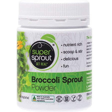 organic broccoli sprout powder 70g | SUPER SPROUT