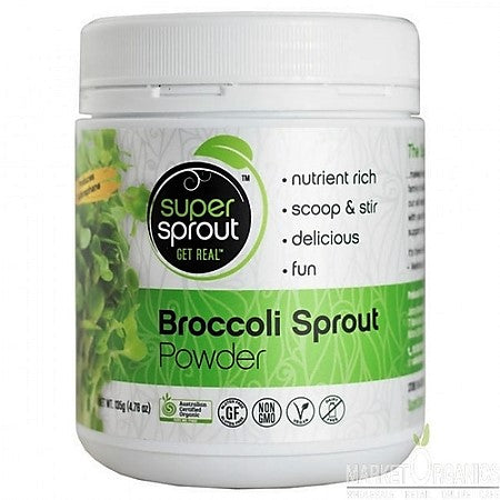 ORGANIC BROCCOLI SPROUT POWDER 135g | SUPER SPROUT