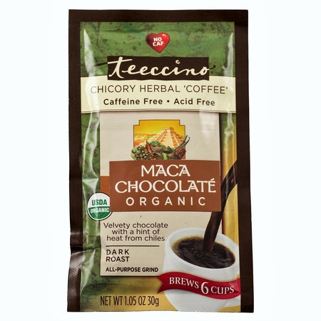 maya chocolate caffeine free herbal coffee 30g (bx12) | TEECCINO