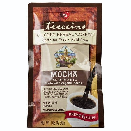 mocha caffeine free herbal coffee 30g (bx12) | TEECCINO