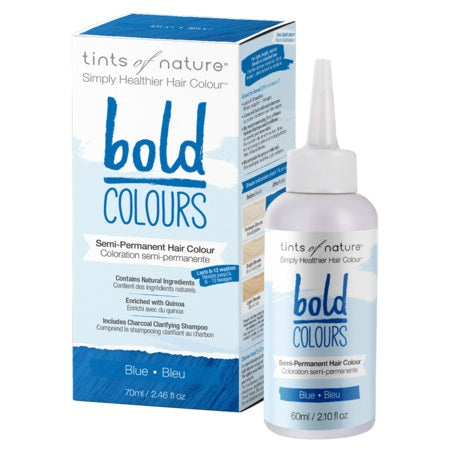 Tints Of Nature  Bold Semi-Permanent Blue 70ml