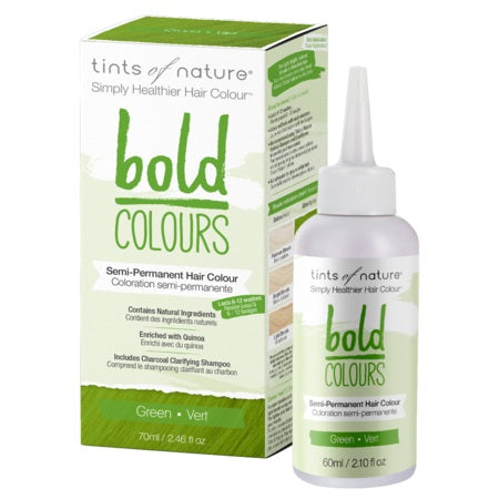Tints Of Nature Bold Semi-Permanent Green 70ml