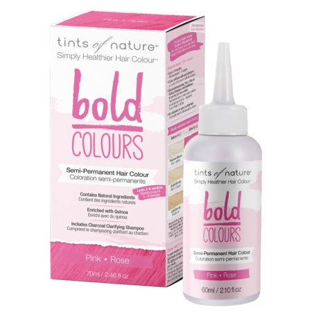 Tints Of Nature  Bold Semi- Permanent Pink 70ml