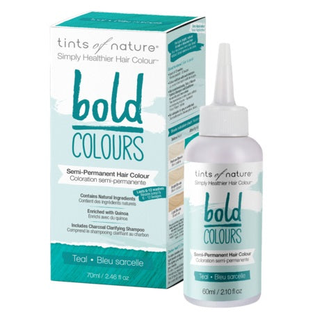 Tints Of Nature Bold Semi-Permanent Teal 70ml