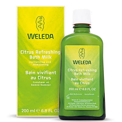 CITRUS REFRESHING BATH MILK 200ml | WELEDA