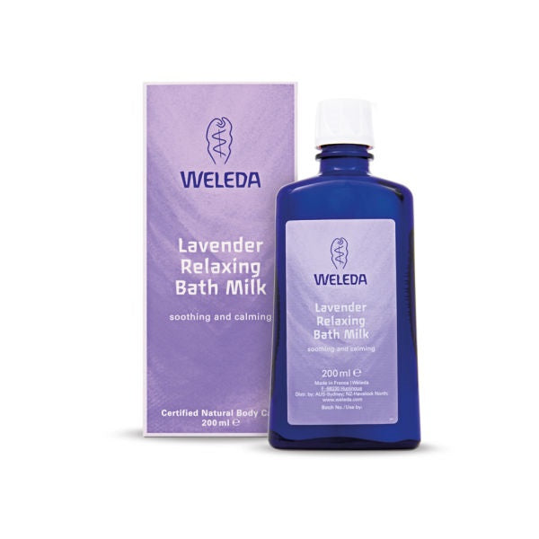 Weleda Lavender Relaxing Bath Milk 200ml | WELEDA