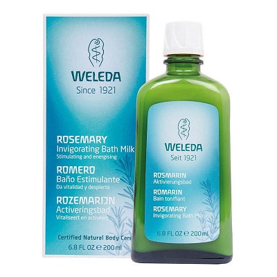 Weleda Rosemary Invigorating Bath Milk 200ml | WELEDA