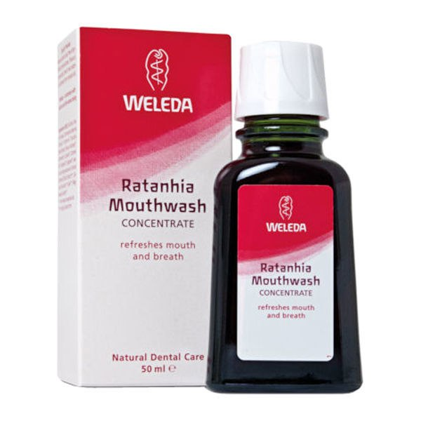 Weleda Ratanhia Mouth Wash 50ml | WELEDA