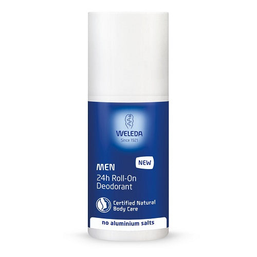 24hr roll-on deodorant men 50ml | WELEDA