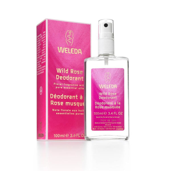 wild rose deodorant 100ml | WELEDA
