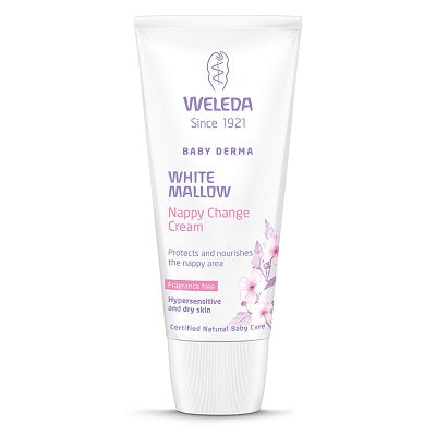 white mallow nappy change cream 50ml | WELEDA