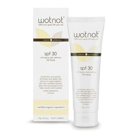 SUNSCREEN FOR FACE 75g | WOTNOT
