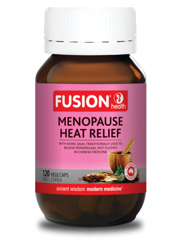 Fusion Health Heat Relief 120Vcaps (Menopause Free Updated)