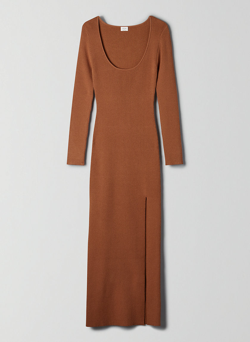 Maeve Dress Long-sleeve bodycon maxi dress