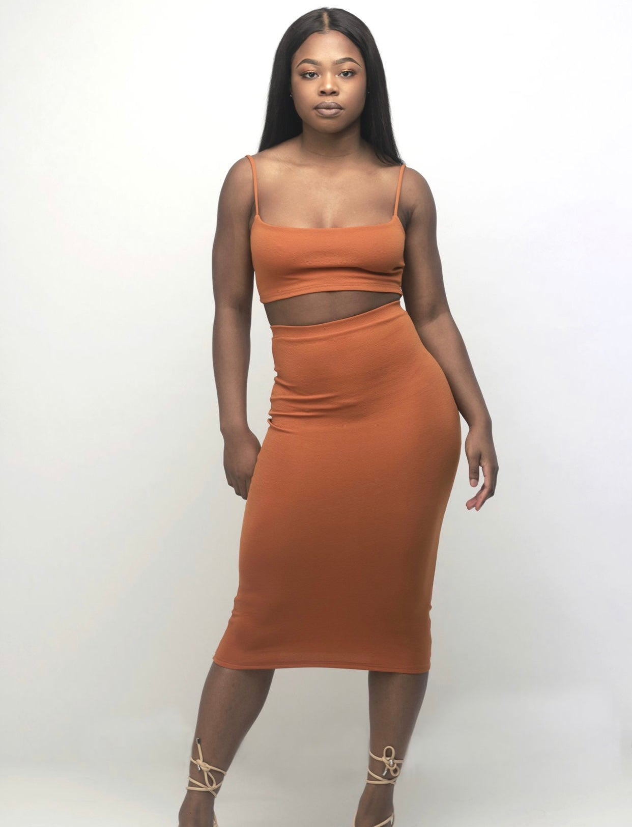 Draya Midi Skirt In Dusk