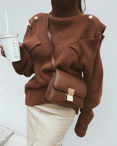 CABANA TURTLENECK SWEATER