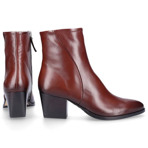 EN AVANT Classic Ankle Boots 300-02 smooth leather brown