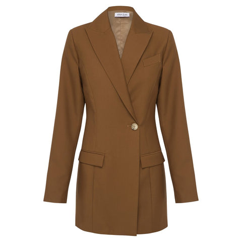 SIENNA JACKET (CHOCOLATE)