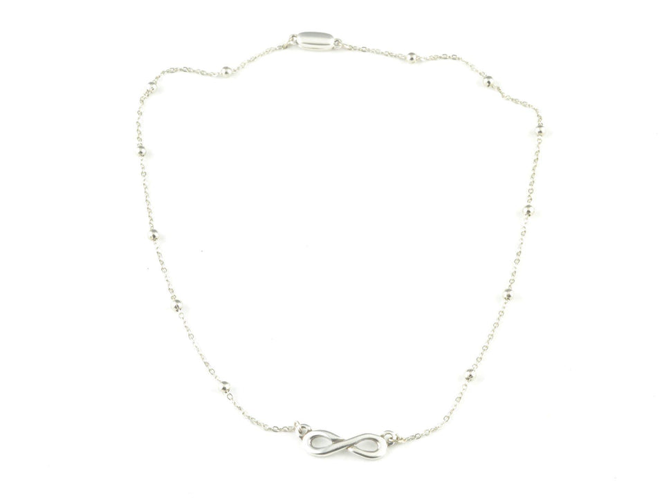 dainty infinity necklace