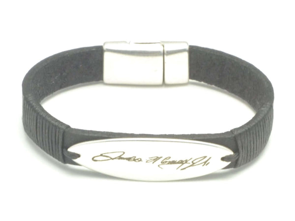 Long Beach Handwriting Bracelet