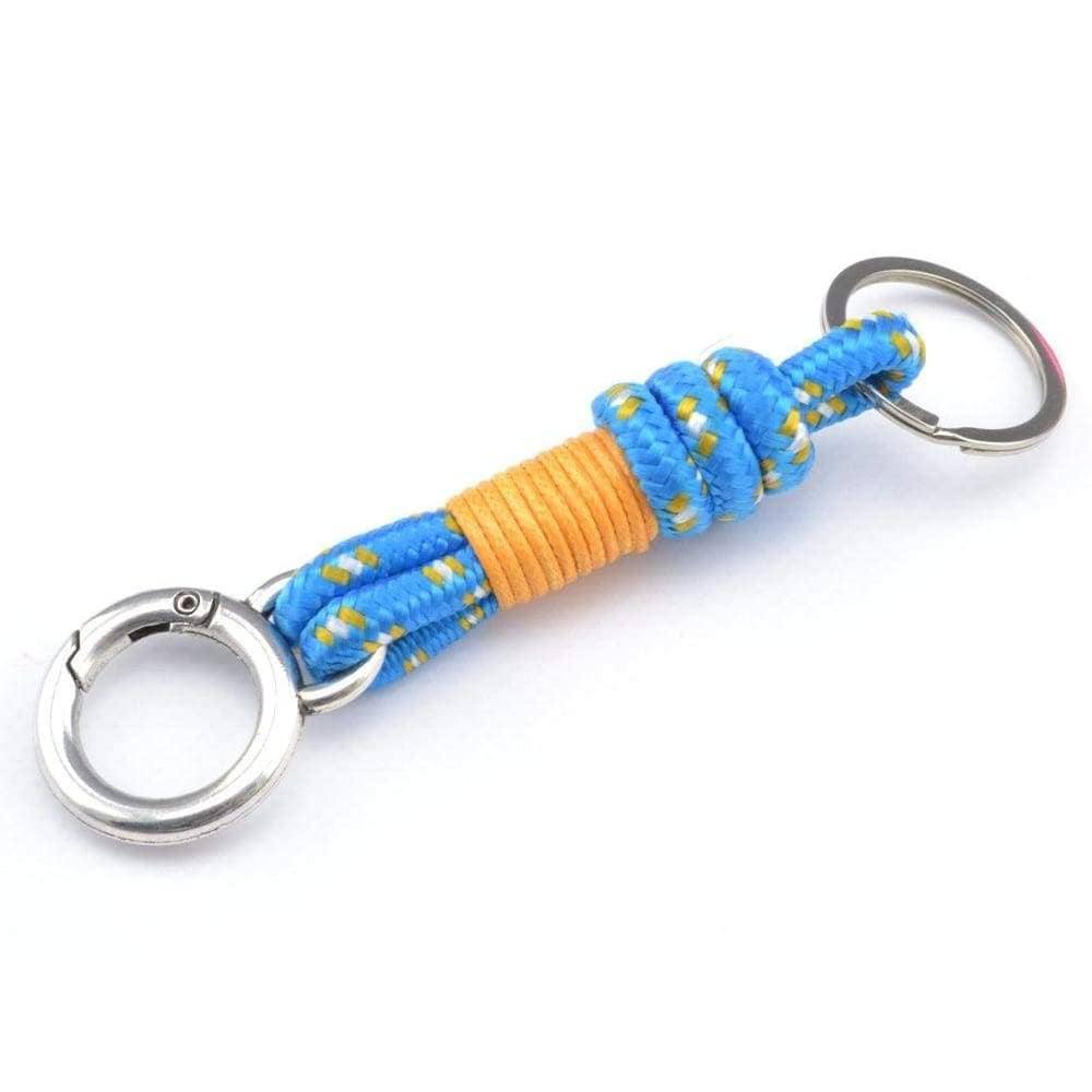 paracord keychain surfer style