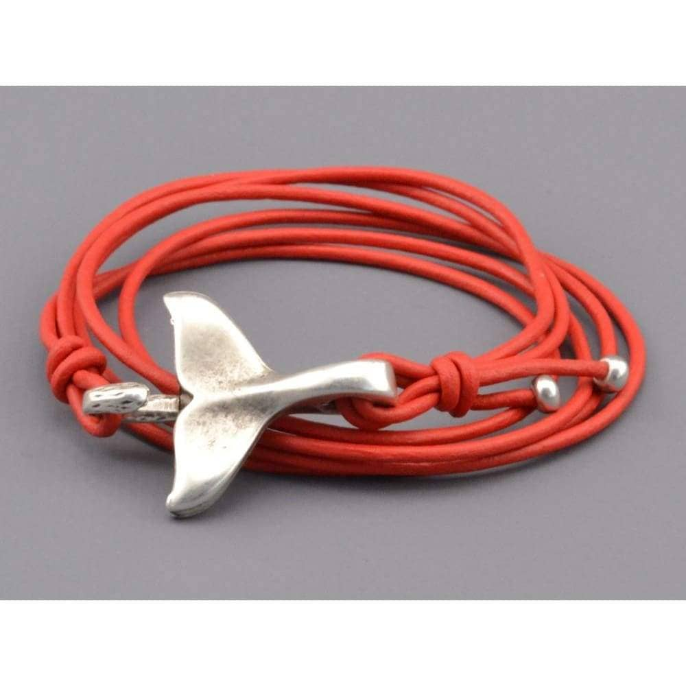whale tail bracelet for couples