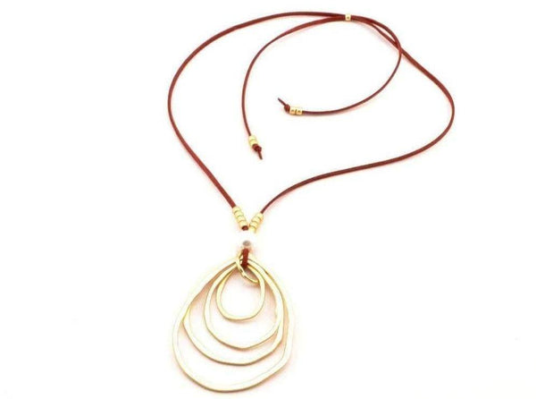 CozyDetailz - Necklaces - infinity long necklace boho necklace gold silver infinity pendant