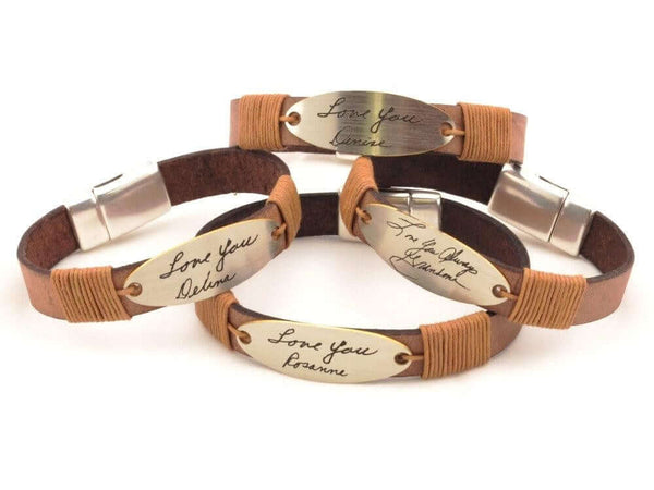 actual-handwriting-leather-bracelet-fromportugal.myshopify.com