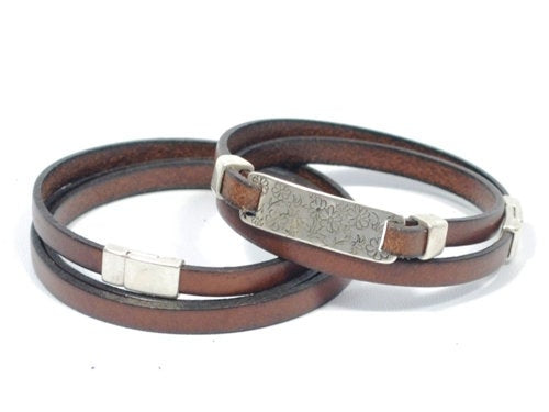 leather wrap bracelets for couples