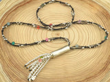 boho long necklace for woman