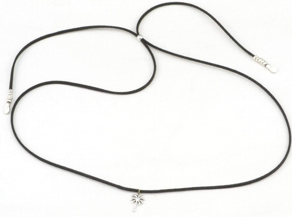 palm tree lariat necklace