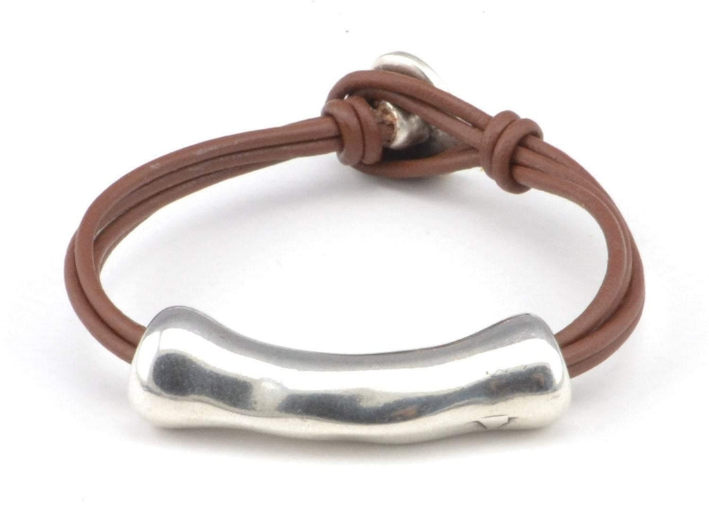 COZY DETAILZ - Bracelets -  wristband boho wrap leather bracelet
