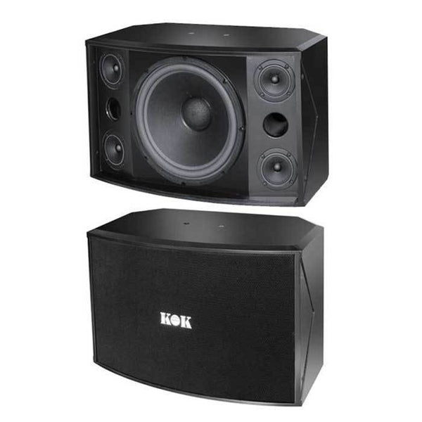 Kok Audio Rs 412 2000 Watt Karaoke Speaker Kokaudio