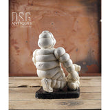10 Large Michelin Man With Dog-Bibendum Cast Iron Collectible