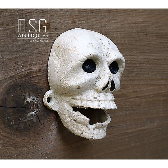 Cast Iron Monkey Skull Bottle Opener Vintage Bottle Opener Skull Skeleton Vintage Bottle Opener