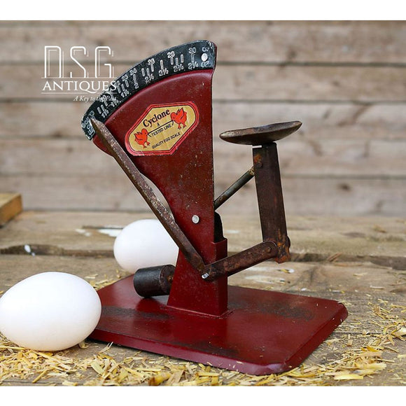 Chicken Egg Scale Cyclone Vintage Style Chicken