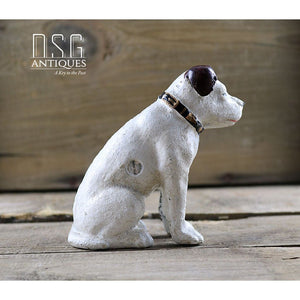 Rca Nipper Dog 4 Inches-Cast Iron Dog-Rca Victor Cast Collectible