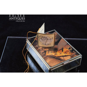 Via Vermont Texas Artistry In Glass Music Box