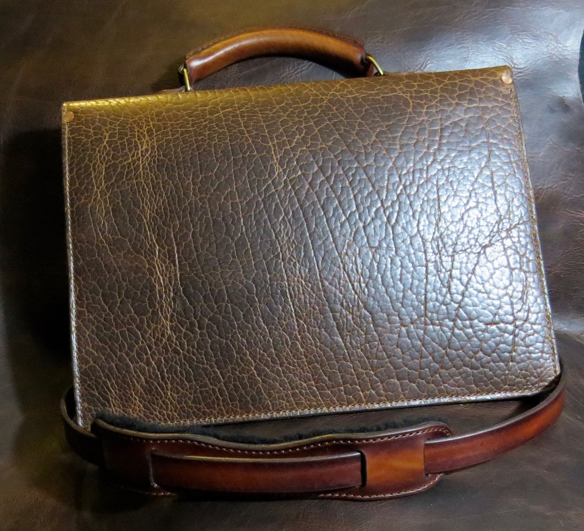 American Bison Briefcase & Portfolio Set