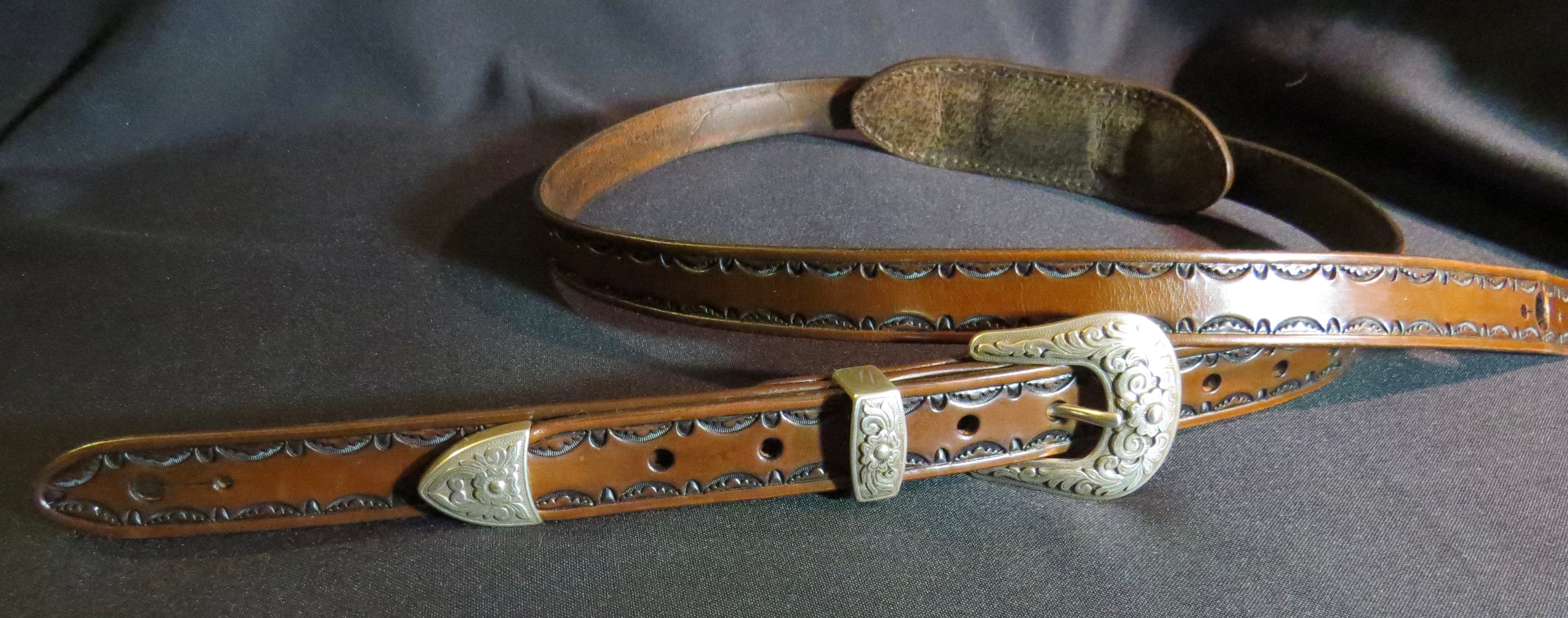 Leather Western Guitar Strap