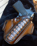 "1911 5"" Leather Holster with Gator inlay"