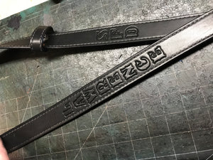 Radio Strap Fitted Leather