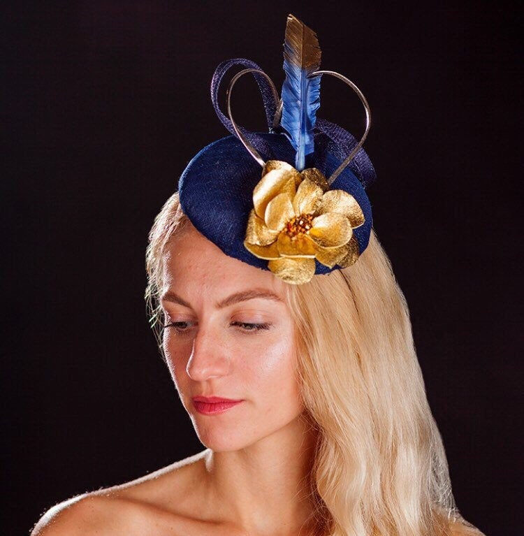 Blue and gold hatinator