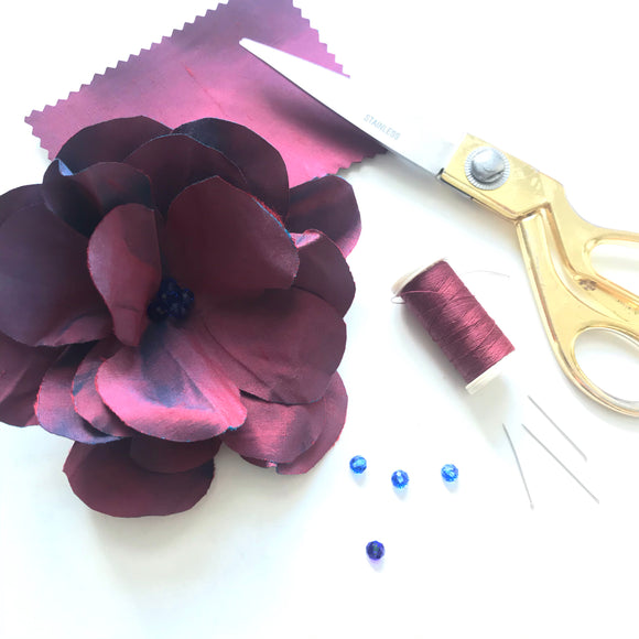 Silk flower - craft kit