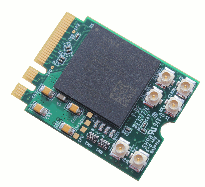 Xilinx Artix FPGA development board, M.2