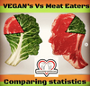 Vegan Vs Meat Eater (STATISTICS)